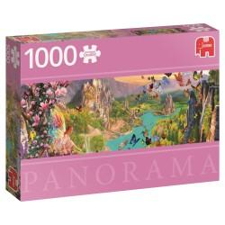 Puzzle Le royaume des fées 1000 pcs - JUMBO