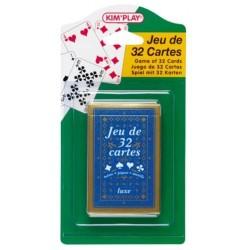 Jeu de 32 cartes - Cofalu Kim'Play
