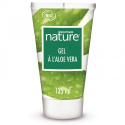 Gel d'aloe vera 125 ml certifié Bio - Boutique Nature