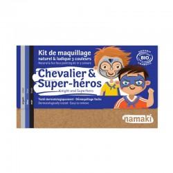 Kit de maquillage 3 couleurs Chevalier & Super-héros - Namaki