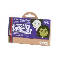 Kit 3 couleurs Sorcière & Zombie - Namaki