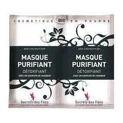 Masque Purifiant Détoxifiant certifié Bio - Secrets des fées