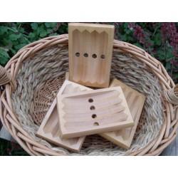 Porte savon en bois