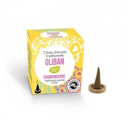 Cônes encens Haute Tradition Oliban - Aromandise