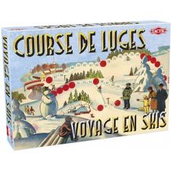 Course de luges/Voyage en skis - Jeux de société - TACTIC