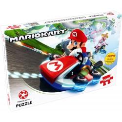 Puzzle MARIO KART - 1000 pcs - WINNING MOVES