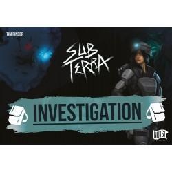 Sub Terra - Extension 1 - Investigation - Jeux de société - NUTS PUBLISHING