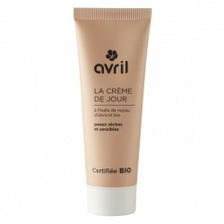 Crème de jour peaux sèches et sensibles 50 ml - Certifiée Bio