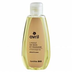 Huile de bain et massage à l'huile d'argan Bio - 160 ml