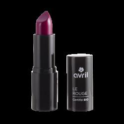 Rouge à lèvres Bio Prune N°600